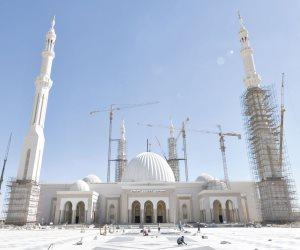 تعرف على موعد افتتاح مسجد العاصمة الإدارية الجديدة (صور)
