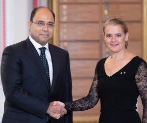 بعد تقديم أوراق اعتماده للحاكم العام الكندي.. ماذا قال سفير مصر في كندا؟