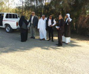 استعدادا لمسابقة أحسن قرية.. رئيس مدينة بئر العبد يتابع أعمال الرصف والتجميل بالجناين (صور)