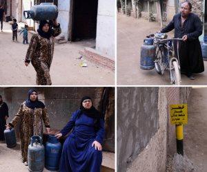 قرية «طناش» المحرومة.. الغاز الطبيعي يداعب 3 ألاف أسرة في الجيزة: والأنبوبة بـ100 جنيه