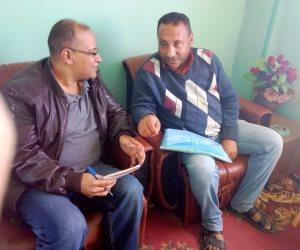 صوت الأمة في قرية «الروضة»: الأهالي فرحين بجهود الدولة للتنمية ورفع كفاءة منازلهم
