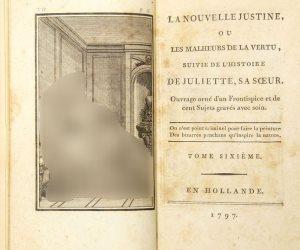 مؤلفه ينسب إليه مصطلح السادية الجنسية.. قصة كتاب حظره نابليون وبيع بـ8 آلاف إسترليني