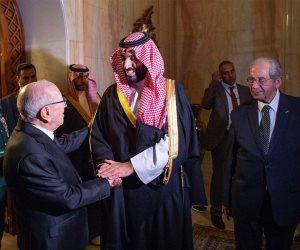 ولي العهد السعودي يختتم زيارته لتونس.. ما فحوى مباحثات السبسي وبن سلمان؟