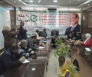 محافظ شمال سيناء يعلن عدد المشاركين في حملة 100 مليون صحة خلال 3 أيام عمل (فيديو وصور)