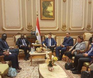 مصر بلد مبادئ.. ماذا قال سفير دولة جنوب السودان في حضور نواب الشعب؟