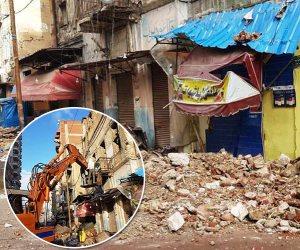 10 منازل في الطريق إلى الهاوية.. عقار «نوة قاسم» ينفجر في وجه محافظ الإسكندرية (صور)