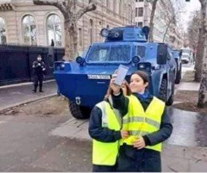 """""""السترات الصفراء"""" تصر على التظاهر للأسبوع العاشر.. وماكرون يواصل الحوار"""