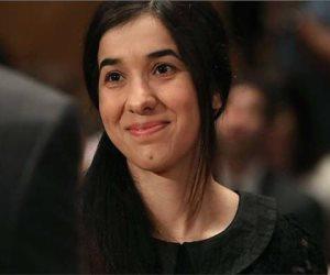 """عقب فوزها بجائزة نوبل.. ماذا قال رئيس العراق خلال استقباله الفتاة الإيزيدية """"نادية مراد""""؟"""