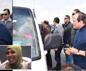 الرئيس جبر بخاطري.. «نحمدو» تكشف موعد العمل بالسيارة الجديدة