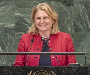وزيرة خارجية النمسا: ندعم جهود السيسي لاستقرار المنطقة ونعوّل على القاهرة في القارة السمراء