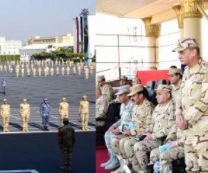 ويلتقى أسر الطلاب..وزير الدفاع يتابع مراحل الإعداد الأساسى لطلبة الكليات والمعاهد العسكرية الجدد