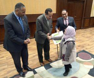 شوشة يكرم ذوي الاحتياجات الخاصة.. ويؤكد: شمال سيناء ستكون أفضل محافظة (صور)