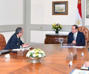 الرئيس السيسى يوجه بالإعداد الجيد لإنشاء البنية الرقمية والمعلوماتية للعاصمة الإدارية