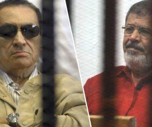 مواجهة القرن..مبارك ومرسى في قاعة محكمة واحدة منذ يناير 2011