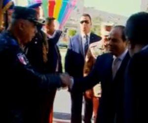 الرئيس السيسي يشاهد فيلما تسجيليا يستعرض تطوير المرحلة الثانية بمنطقة غيط العنب