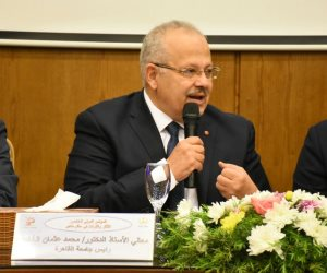 رئيس جامعة القاهرة عن حكم «حظر النقاب»: نحترم أحكام القضاء.. و«النقاب» لا يحقق التفاعل