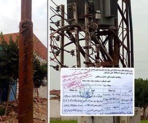 شبح «ألغام الكهرباء» يطارد أهالي الشرقية.. متى ينتهي كابوس الموت صعقا؟ (صور)