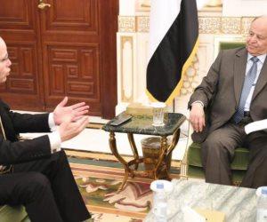 """عبد ربه منصور هادي لـ""""جمال الكشكى"""": لن نفرط في شبر من اليمن (حوار)"""