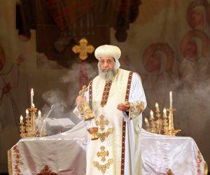 """كورونا يغيب تواضروس عن صلاة """"القيامة"""" بالكاتدرائية.. ليست المرة الأولى"""