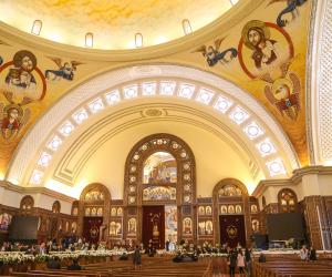 فيديو.. التواشيح تعانق الترانيم في افتتاح مسجد وكاتدرائية العاصمة الإدارية
