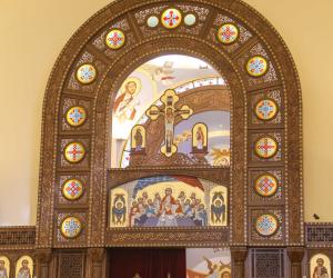 الدولة تصلح ما أفسده إرهاب الإخوان.. افتتاح كنيسة ملوي الإنجيلية الأربعاء (صور )