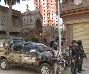 تشديدات أمنية غير مسبوقة بمحيط جميع الكنائس.. قداس عيد الميلاد في حماية الشرطة