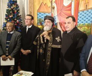 ماذا قالوا.. قيادات البرلمان يقدمون التهنئة للبابا تواضروس والأخوة الأقباط في عيد الميلاد (صور)