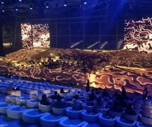 صور..  تفاعل جماهيري ضخم في حفلة الموسيقار عمر خيرت بالسعودية