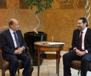 شكوى لبنانية بمجلس الأمن.. ماذا قال عون والحريري عن سقوط طائرتين إسرائيليتين بالضاحية؟