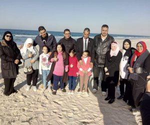 «كلنا واحد».. مديرية أمن شمال سيناء تحتفل بذوي القدرات الخاصة في عيد الشرطة (صور)