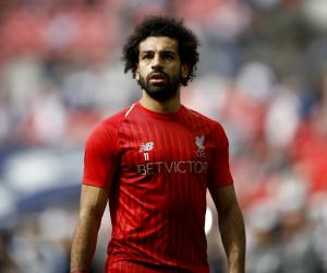 محمد صلاح يهدد عرش جيرارد فى مباراة ليفربول ضد جينك