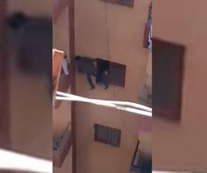 قصة «طفل البلكونة» كاملة.. فيديو مرعب وتحرك أمني