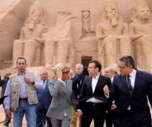 في عام.. قادة العالم في حضرة الآثار المصرية (صور)