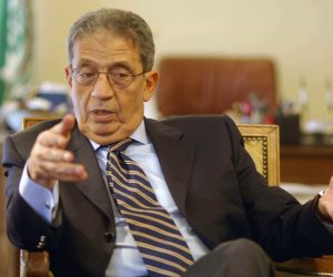 عمرو موسي: الوضع في ليبيا حساس للغاية والموقف المصري يحتاج للدعم والمساندة