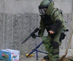 علوم مسرح الجريمة.. خطوات استخدام «مدفع المياه» لإبطال المتفجرات