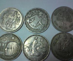 العملات القديمة بوابة الثراء السريع .. الجنيه القديم ب 100 ألف .. الشلن الورقى بـ4000 جنيه.. وريال السلطان فؤاد بـ3000 .. والفاروق بـ700
