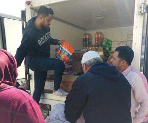 سيارات منتجات غذائية بأسعار مخفضة ضمن مبادرة حياة كريمة لأهالى بور فؤاد غدا