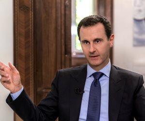 الأسد: العدوان الإجرامي الذي يشنه أردوغان على سوريا يندرج تحت الأطماع التركية فى المنطقة
