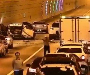 حقيقة فيديو سباق السيارات وتجمعات الشباب خلف نادي سموحة