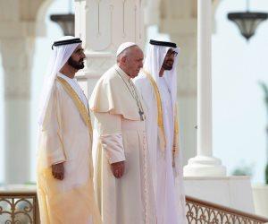 حلال لكم وحرام على الإمارات؟.. قطر ومحاولات تشويه زيارة البابا فرنسيس (فيديو)