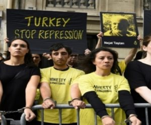 حقوق الإنسان بتركيا في خبر كان