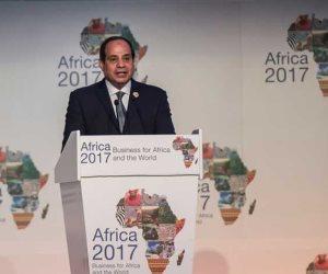 خلال 25 زيارة له لإفريقيا.. ماذا قال السيسى عن القارة السمراء؟