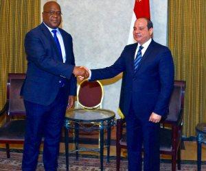 الرئيس: مستمرون فى تقديم كافة أوجه المساعدات الممكنة للكونغو الديمقراطية