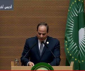 الرئيس السيسي يتسلم رسميا رئاسة الاتحاد الأفريقي