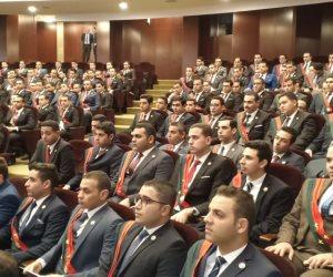 341 من أعضاء النيابة الجدد يؤدون اليمين القانونية أمام وزير العدل والنائب العام (صور)