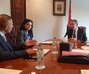"""ماذا قال """"عمرو طلعت"""" خلال لقاء مدير هيئة تنظيم الاتصالات بالإمارات العربية؟"""