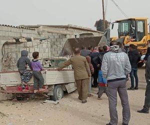 لازالت التعديات على أراضي الدولة.. شمال سيناء تشن حملات موسعة في العريش وبئر العبد (صور)