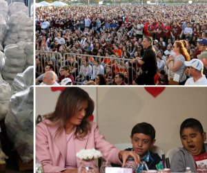 جولة في صحف العالم: ميلانيا ترامب تحتفل بعيد الحب.. وتدفق المساعدات على فنزويلا