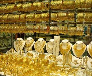 أسعار الذهب تتراجع 4 جنيهات وعيار 21 يسجل 822 جنيها للجرام