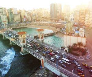 قصة ليلة غابت فيها الشمس عن مدينة السحر: الإسكندرية تصارع الطقس (صور)